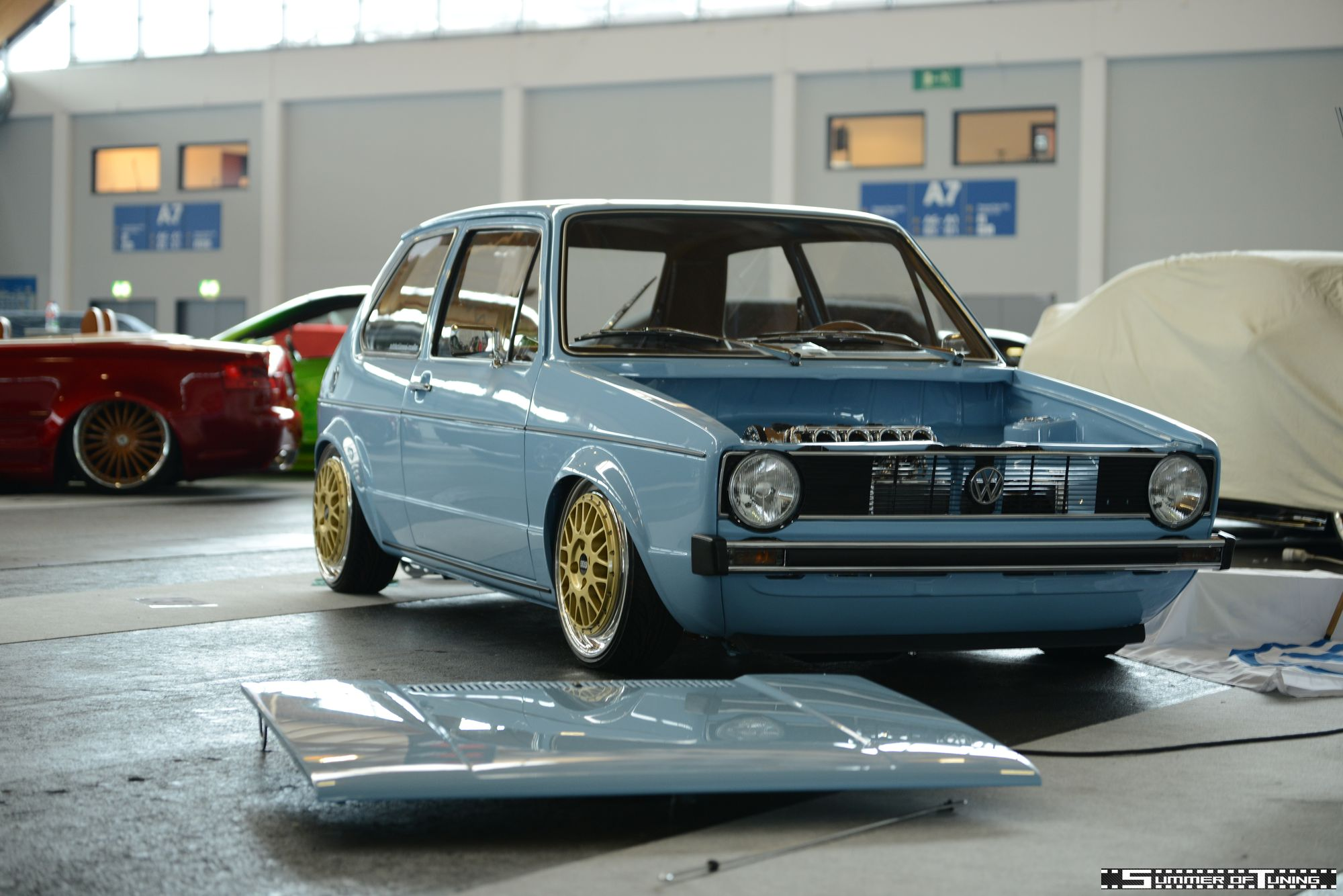 VW Golf Mk1 Jörg Ballermann