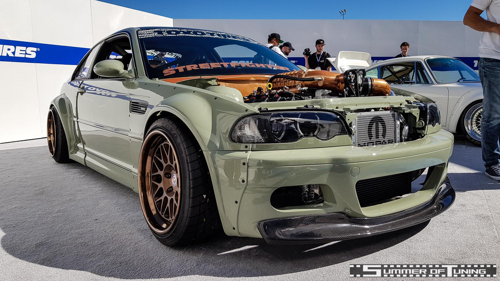 BMW E46 Mopar-Swap