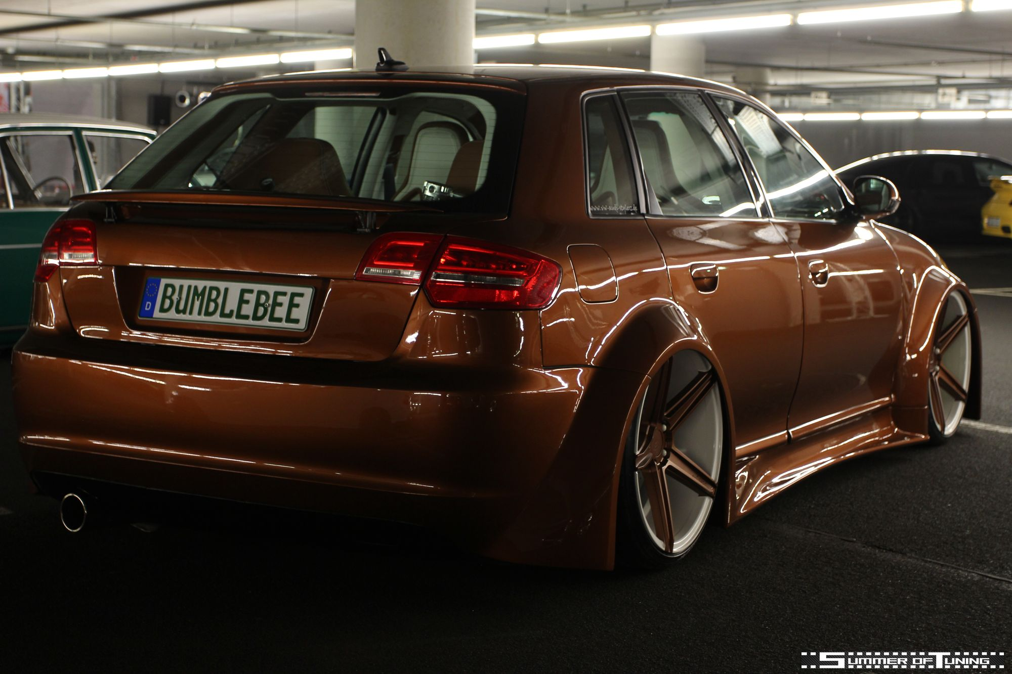 Vwvortex Com Insane Audi A4 With Valve Controlled Exhaust