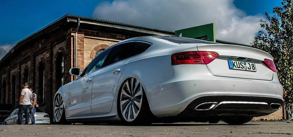 audi a5 sportback tuning - summer of tuning