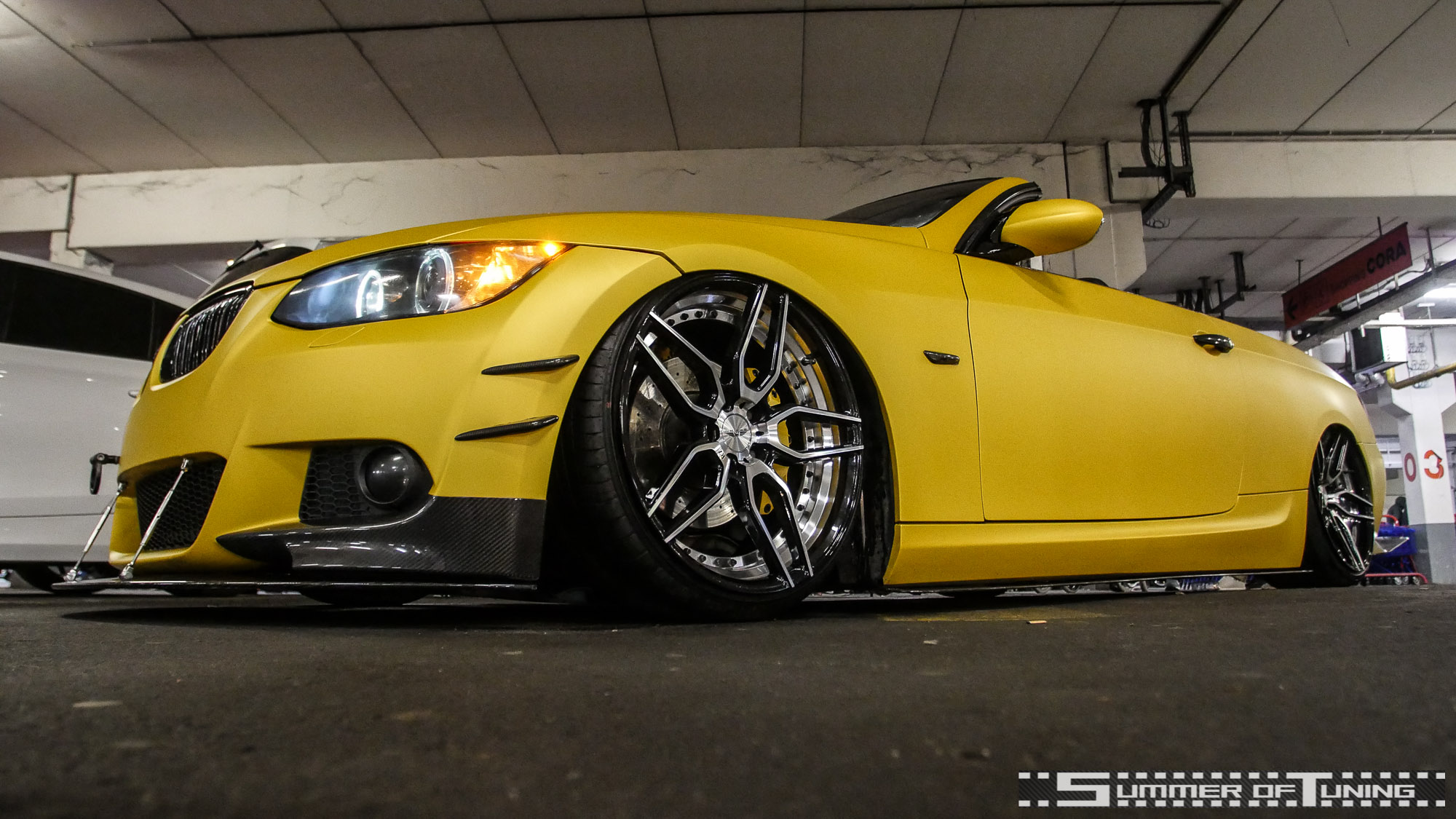 BMW Cabriolet, Bimmer, Airride, Bagged, Car Wrapping