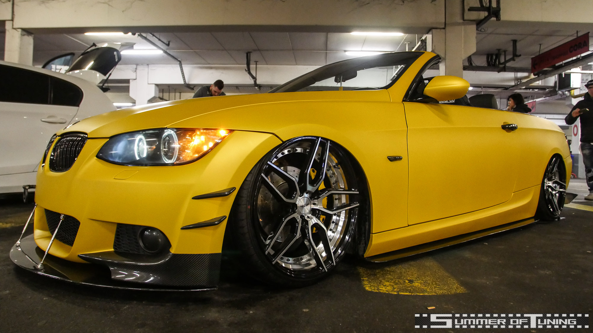 BMW Cabriolet, Bimmer, Bagged, Airride, Prior Design, Akrapovic, Tuning, HoW14