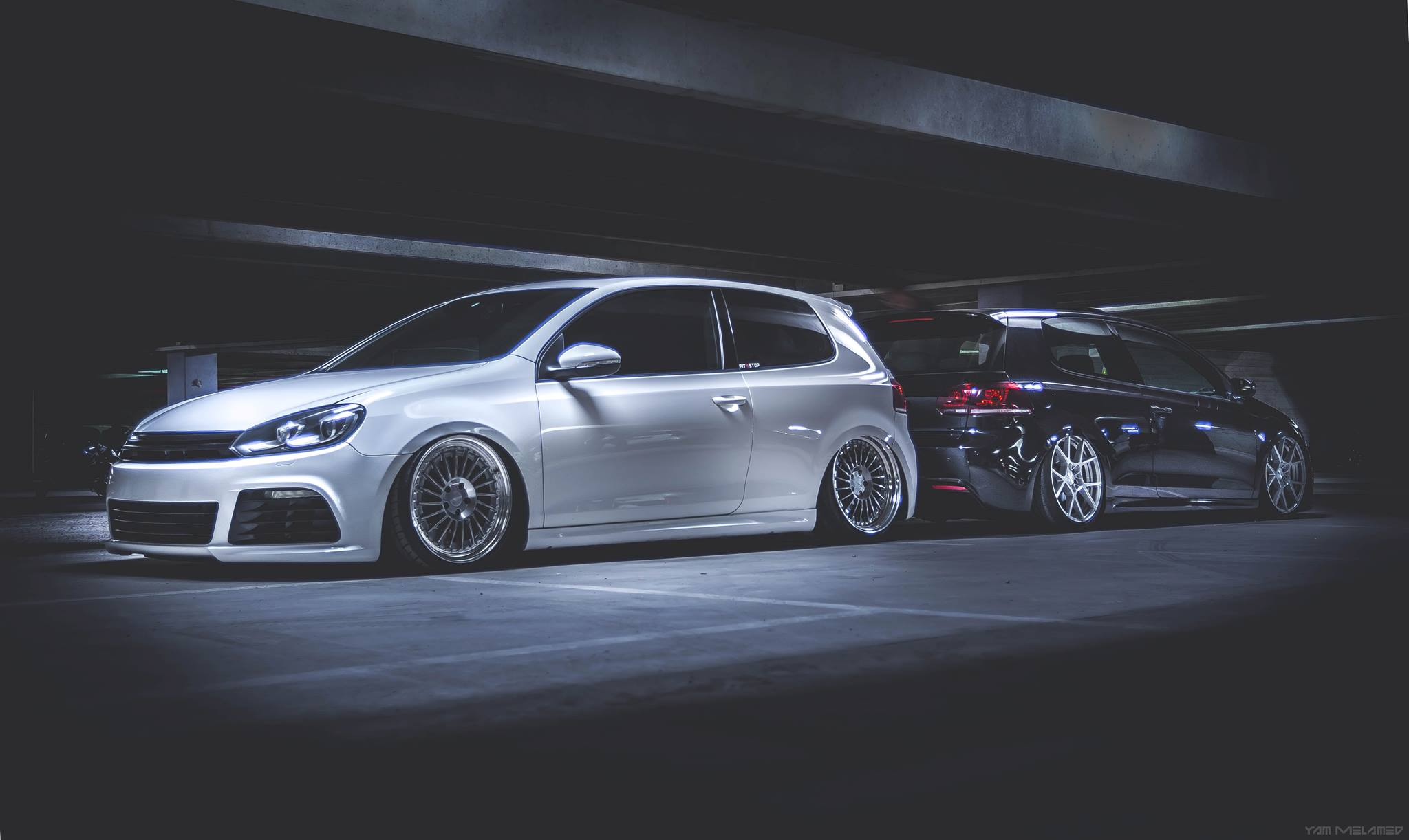 VW Golf Mk6, Stance, Low, Airride, Wheels, Formed